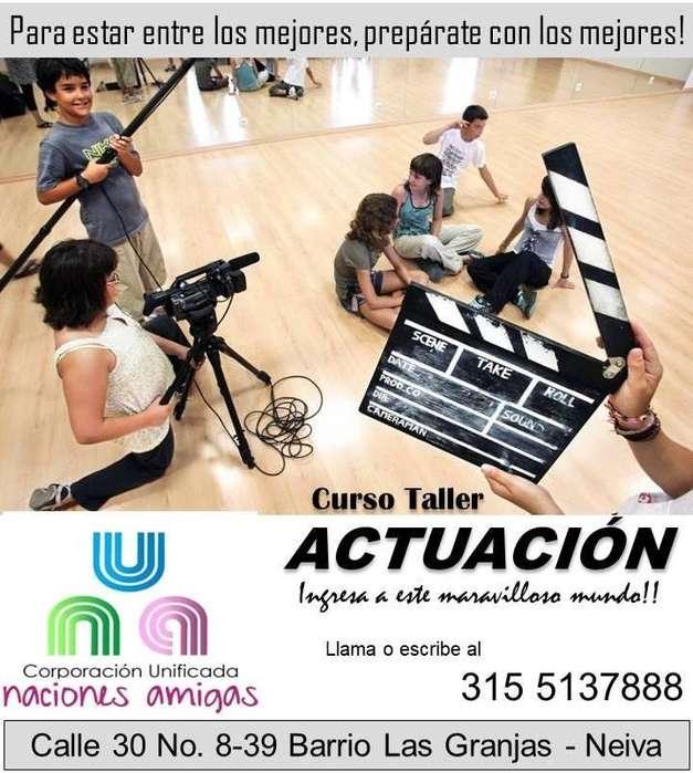 CURSO TALLER DE ACTUACIÓN