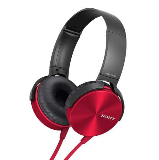 Auriculares MDR-XB450 Vincha Extra Bass