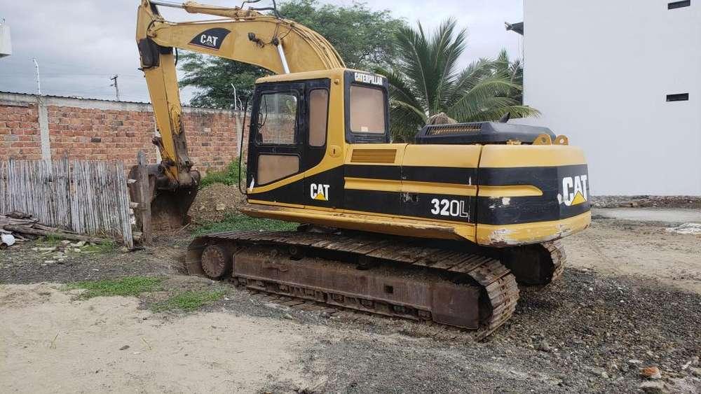 ESCAVADORA CATERPILLAR 320L