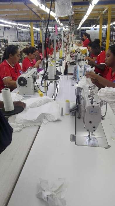 Operarias maquinas de confección fileteadora, collarin