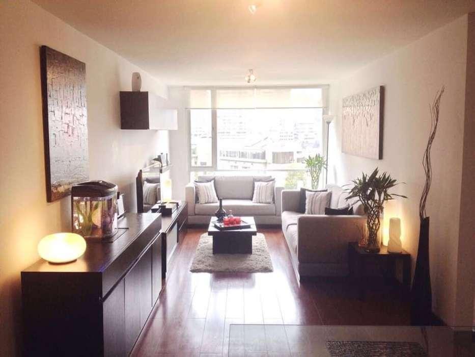 Bellavista Amoblado 3 dormitorios - Edificio de lujo, vista - Departamento Arriendo