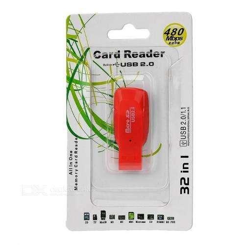 Lector de memorias TF A USB 2.0