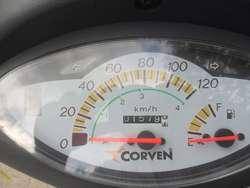 CORVEN ENERGY 110 2018 ÚNIC0 DUEÑO CON 2500 KM IGUAL A 0KM