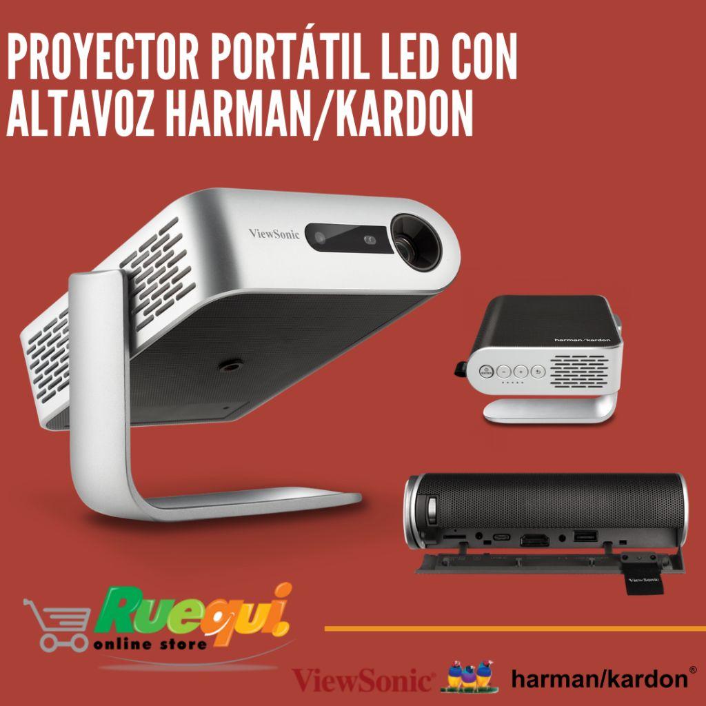 Proyector Portátil Led View Sonic Con Altavoz Harman/kardon