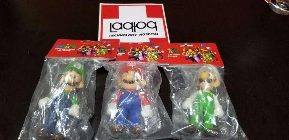 Muñecos de Marios Bros