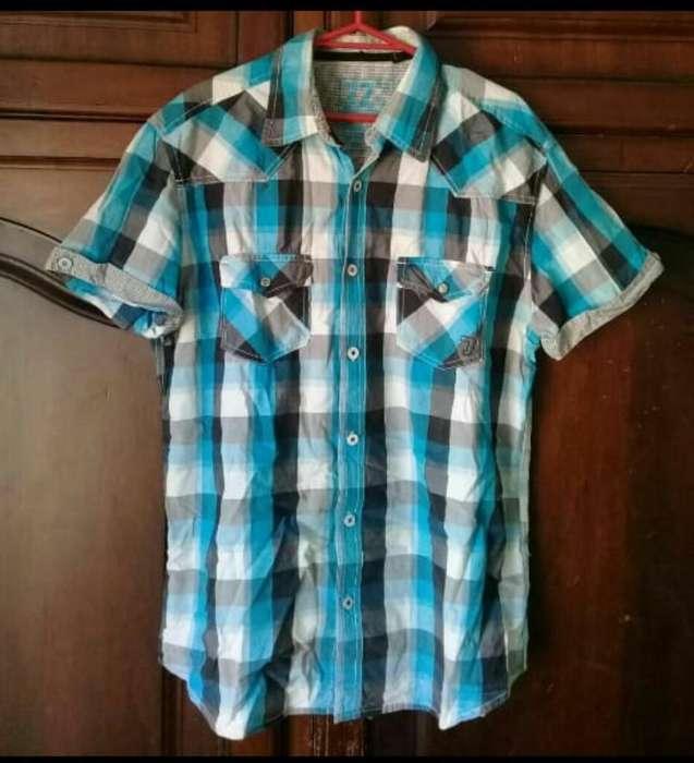 Camisa Americana Hombre M Buen Estado
