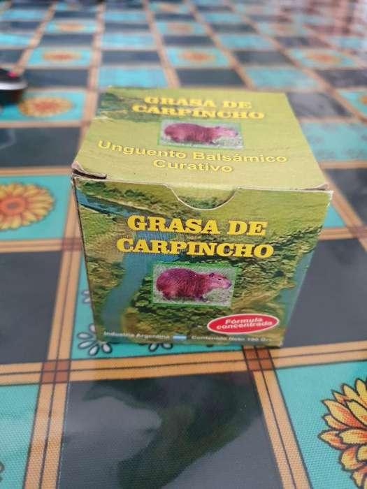Grasa de Carpincho