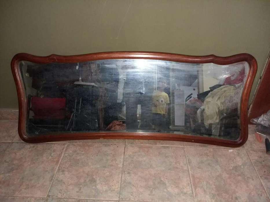 Espejo Antiguo de Diseño biselado