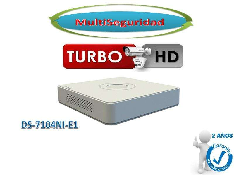 NVR 4CH HIKVISION DS 7104NIE1 HASTA 1080P, FUENTE