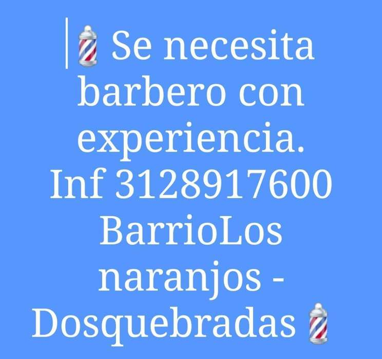 Se Necesita Barbero - Inf 3128917600