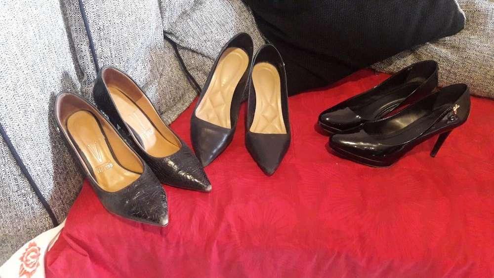 Vendo Zapatos Dama 3x1