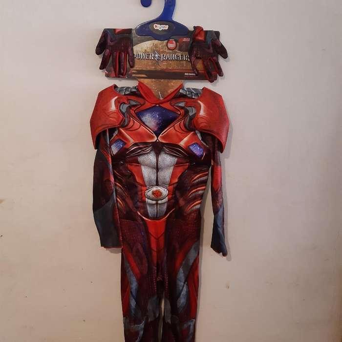 Disfraz Power Ranger 7-8 Años Americano