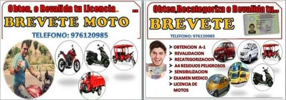 Licencia de Moto Y Carro