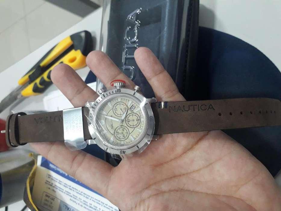 Reloj hombre nautica original