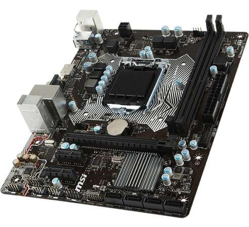 Msi Motherboard (1151) H110m Pro-vh Plus