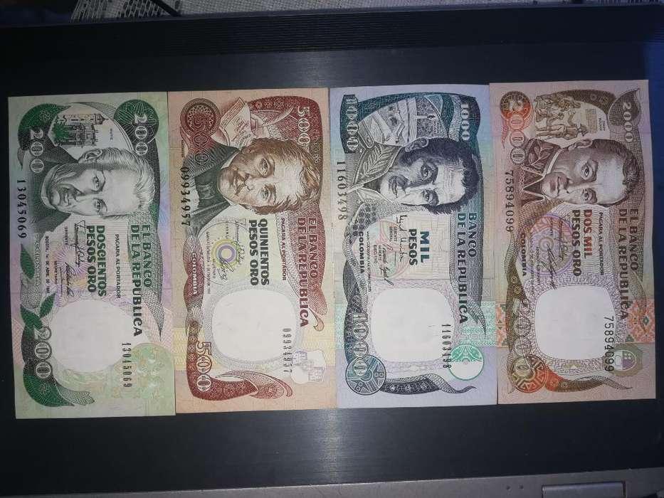 Colección de Billetes Colombianos