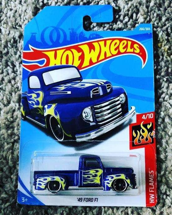 Hot Wheels 49 FORD F1 CAMIONETA / 0992786809