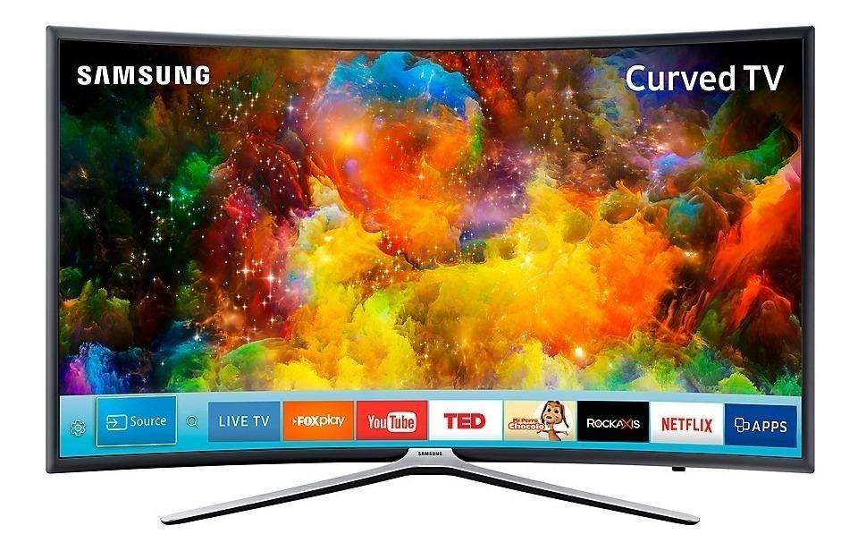 SAMSUNG CURVED 55 FULL HD SMART TV