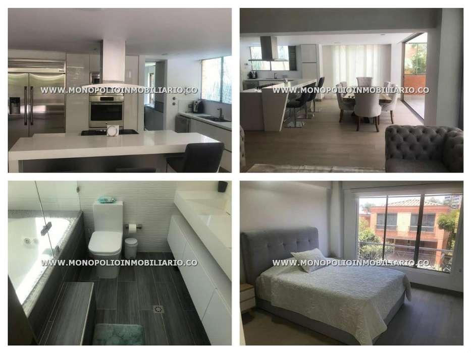 rento apartamento amoblado en el poblado código 17178
