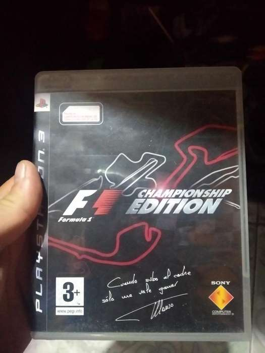 Fórmula 1 Play 3 Ps3