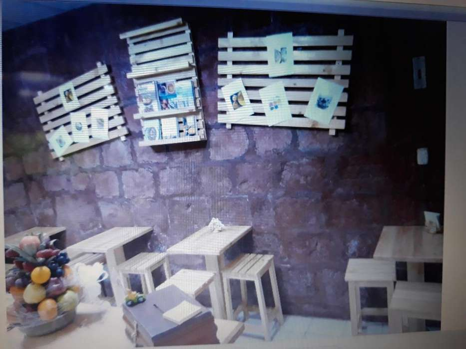 Muebles para Cafeteria de Oportunidad