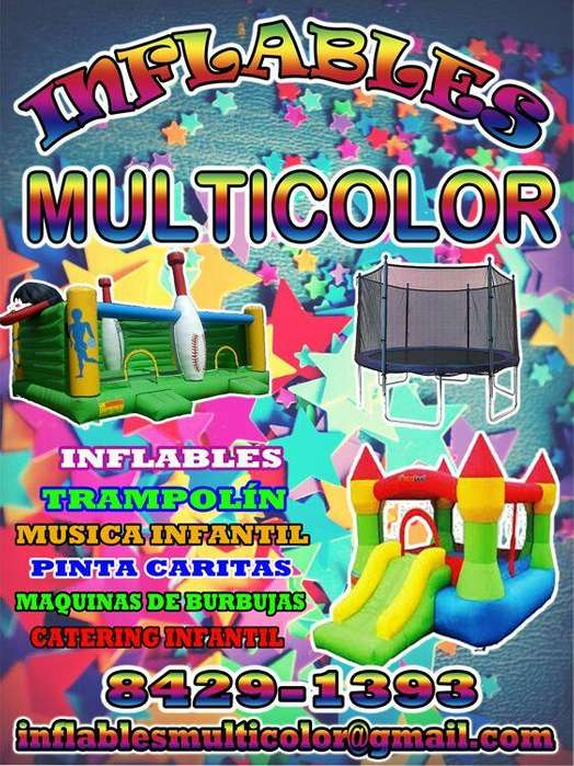 Inflables Multicolor