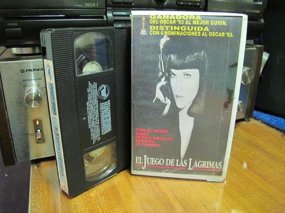 The Crying Game (El Juego De Las Lagrimas) Año: 1992 -VHS 1992