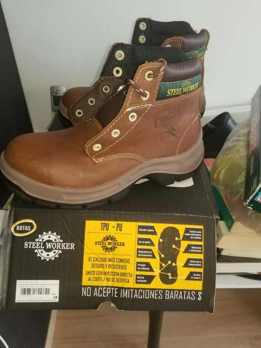 Botas de Seguridad Steel Worker
