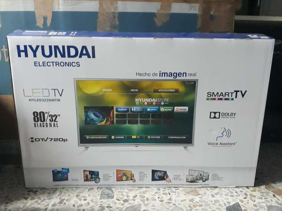 Tv Hyundai Smarttv Nuevo