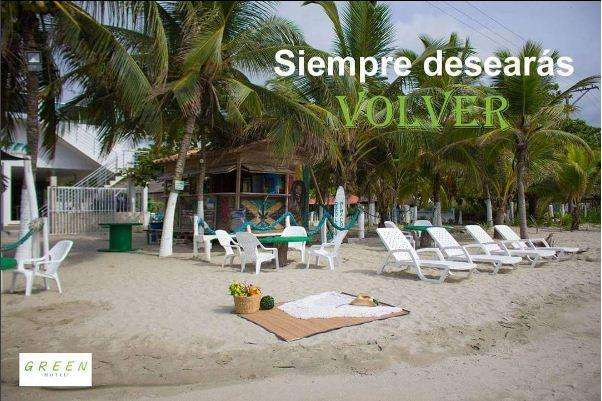Excursiones a Coveñas permanentes HOTEL GREEN LUXURY con AVAL TURISTICA