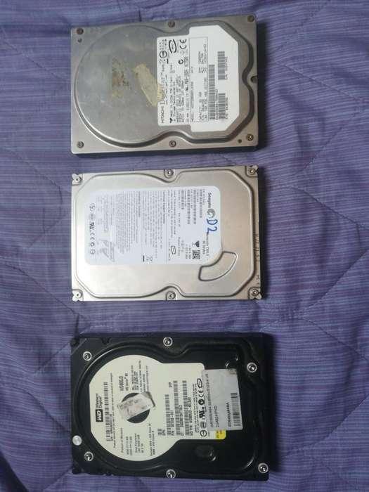 3 Discos Duro 80gb