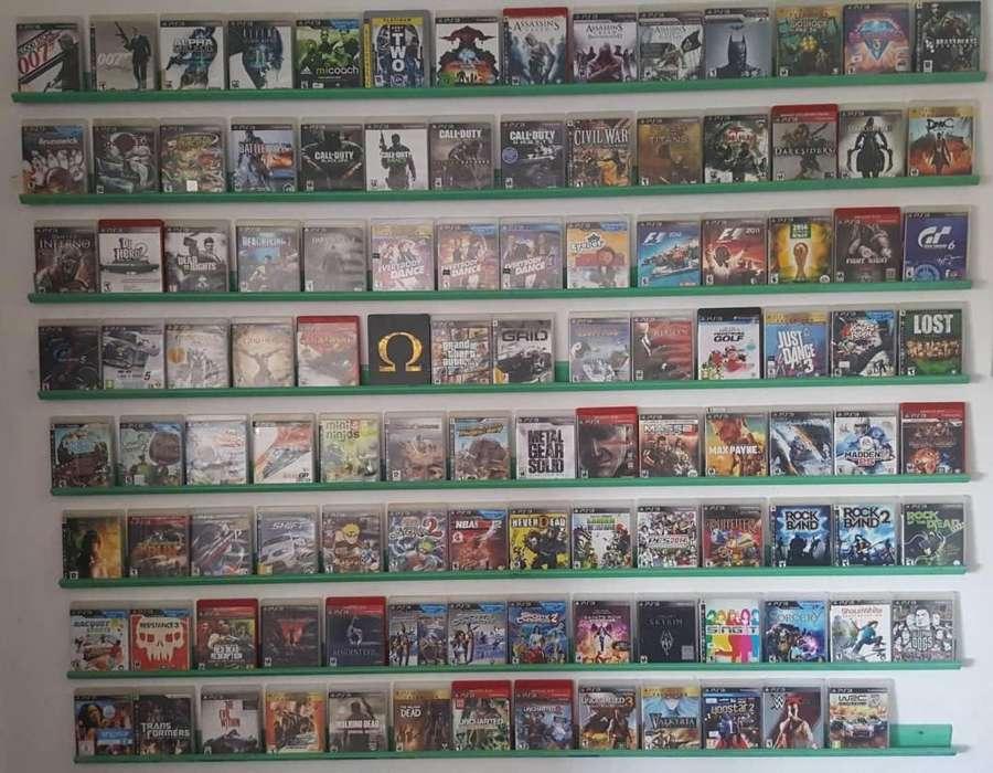 SE VENDEN JUEGOS FISICOS PS3 Y PS4..! Se reciben otros en parte de pago.