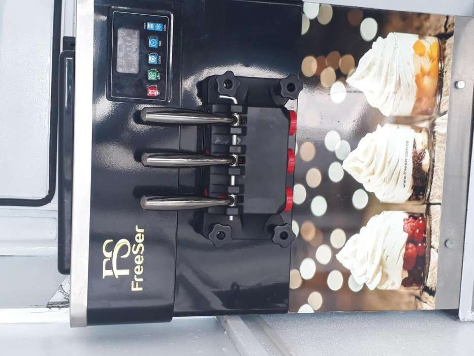 Vendo maquina de helados