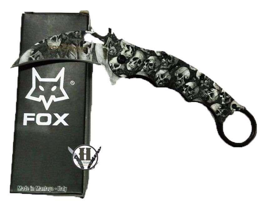 Navaja Karambit Táctica Fox Skeleton