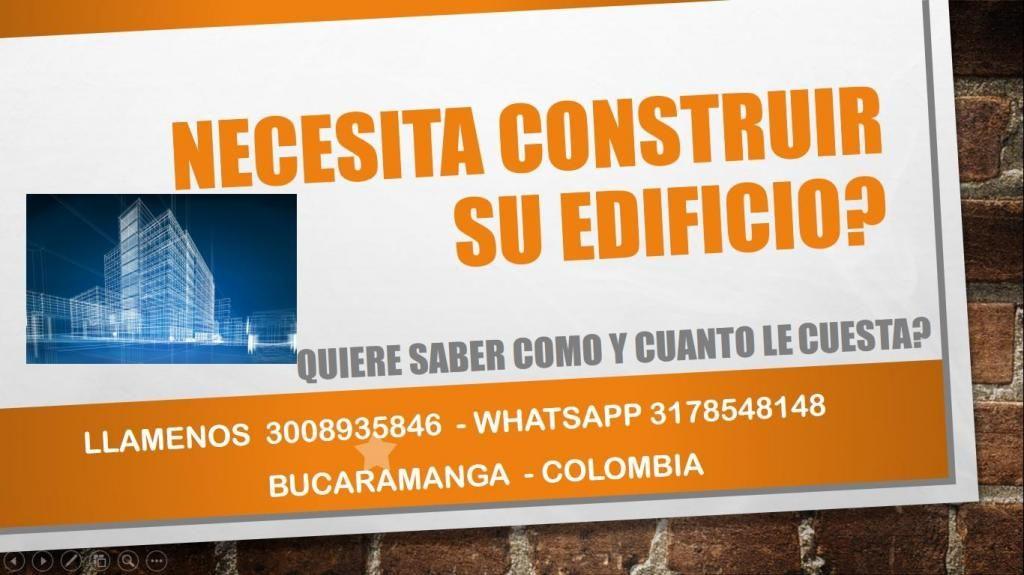 NECESITA CONSTRUIR SU CASA ? LLAMANOS EN BUCARAMANGA 3008935846