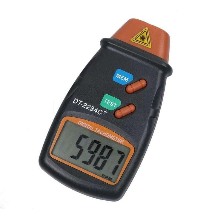 Tacómetro Digital Laser Medidor Rpm