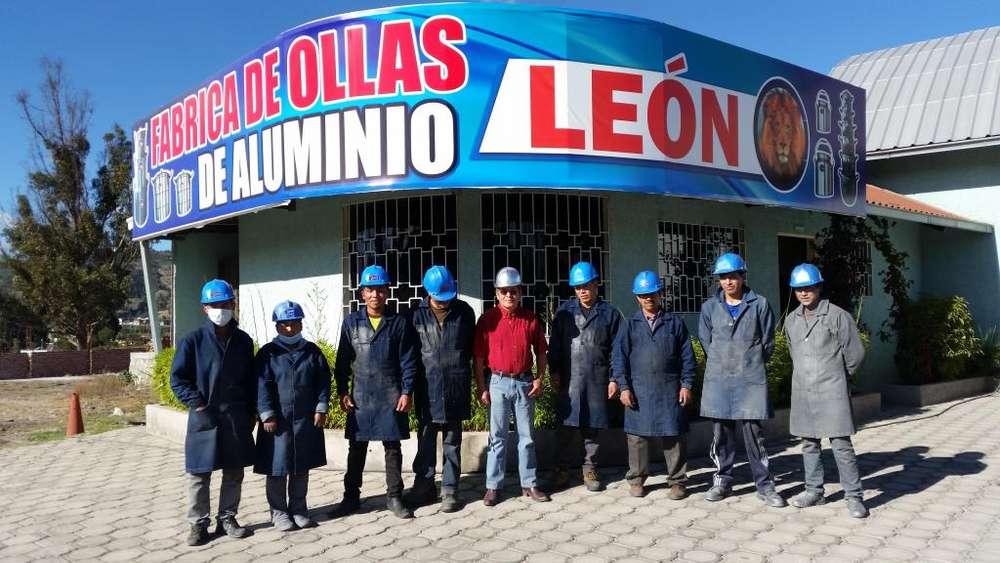 SE VENDE FABRICA DE OLLAS DE ALUMINIO LEON