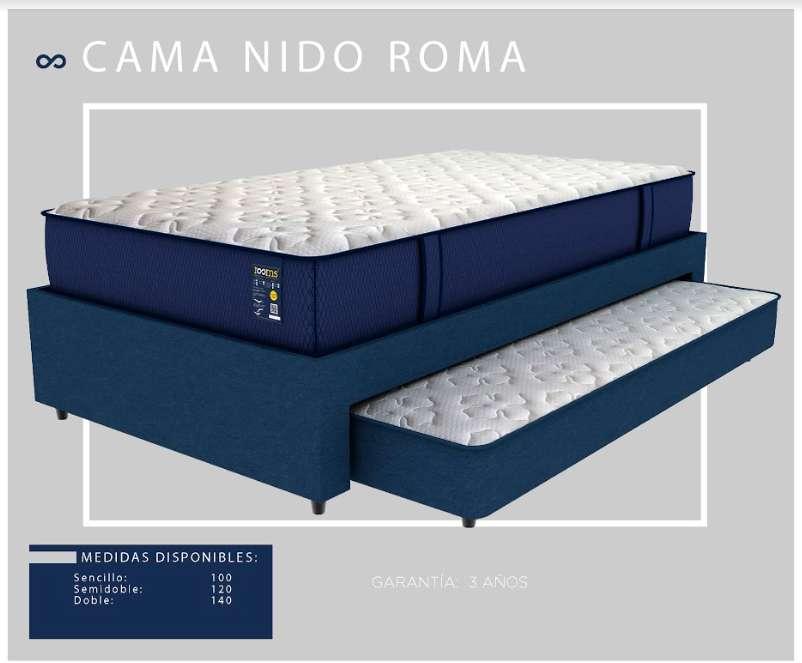 BASE CAMA NIDO ROMA