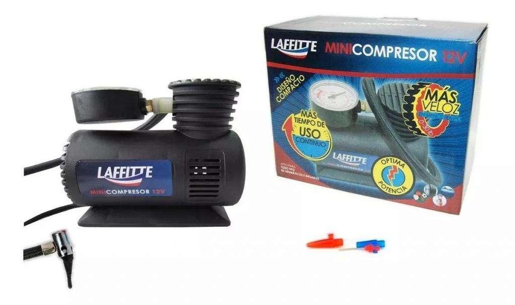 Mini Compresor Inflador De Aire 12v Auto Medidor De Presión