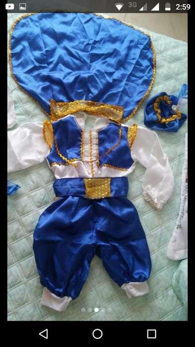 Disfraz de Príncipe Azul Niño12-24 Meses