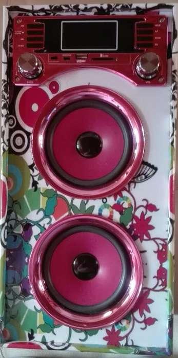 Torre Reproducion Musica Bluetooth Usb