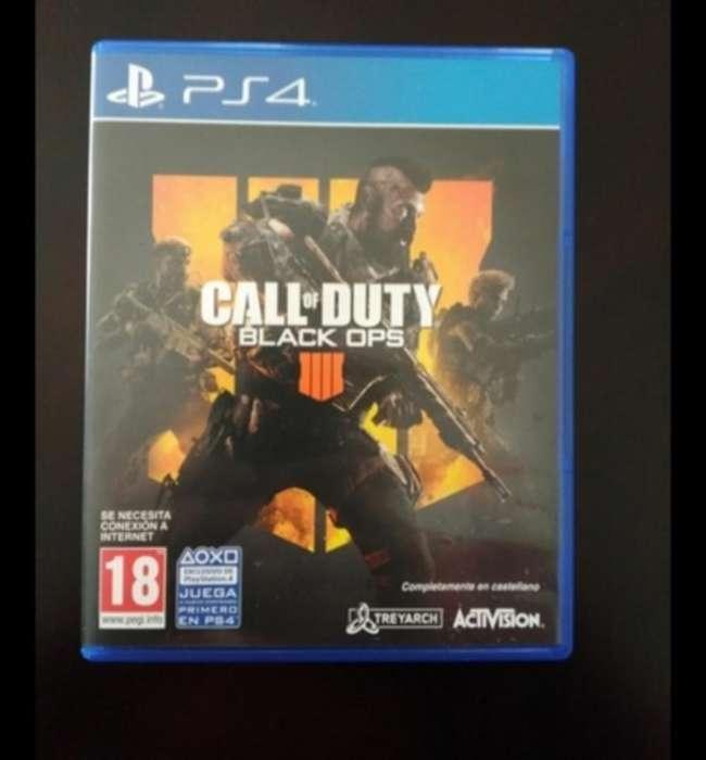Call Of Duty Black Ops 4 Como Nuevo