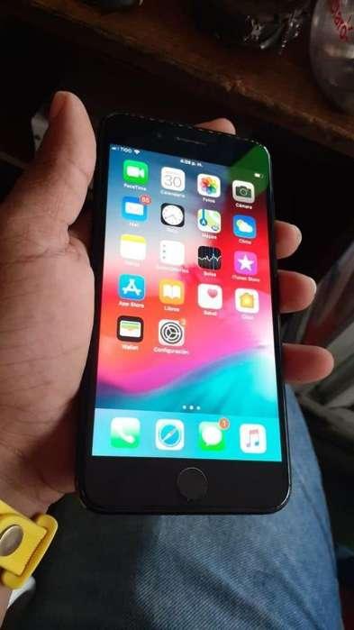 Vendo iPhone 7plus Negro Mate de 128gb