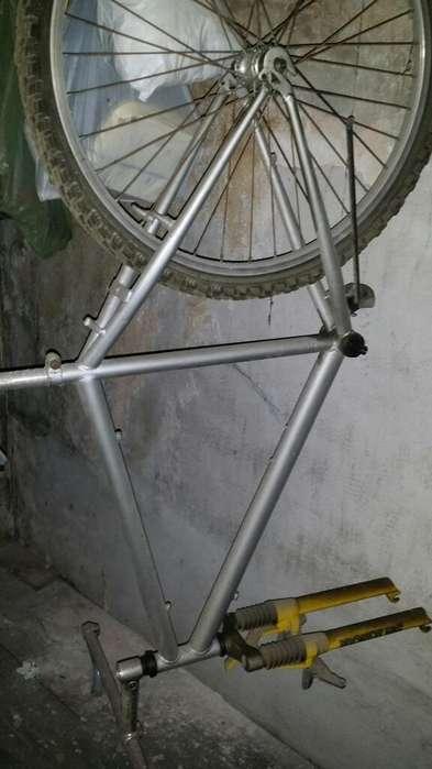 Cuadro de Bicicleta con Horquilla Rst