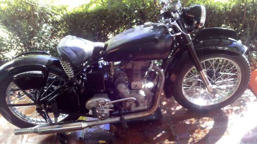 Moto Royal Enfield G350 Año 1947: para coleccionistas