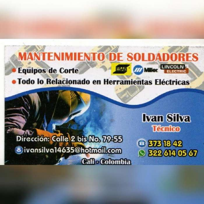 MANTENIMIENTO DE SOLDADORES Y HERRAMIENTAS ELÉCTRICAS