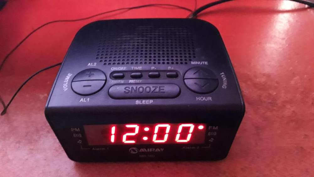 Radio FM AM HORA ALARMA