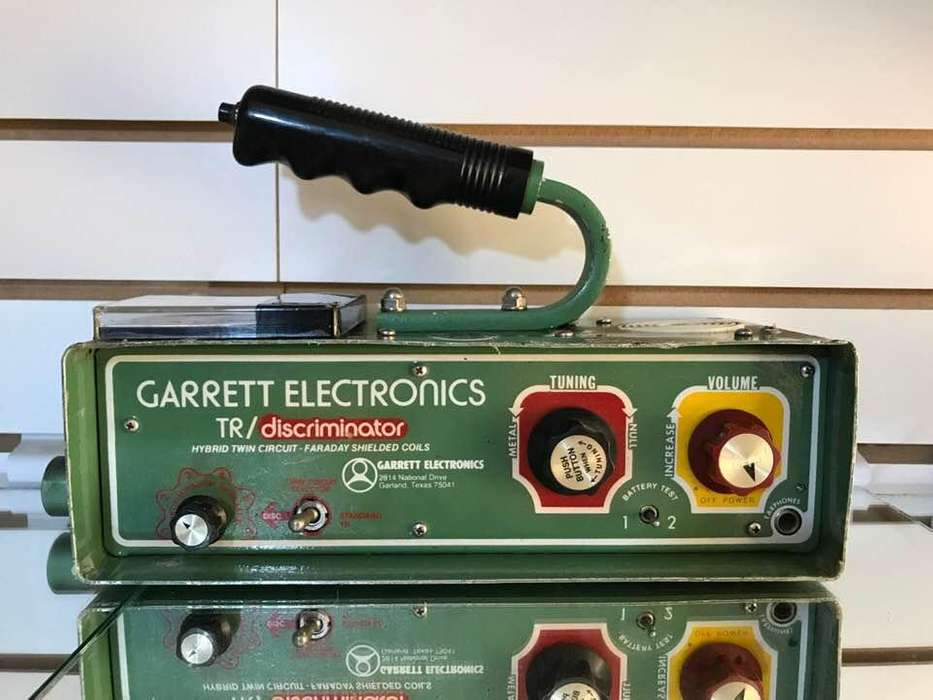 Antiguo Detector Metales Garrett Tr Money Hunter 1977 Usado