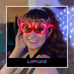 Cotillon Luminoso Anteojos 10 Leds Fiestas electronicas Lapkurz