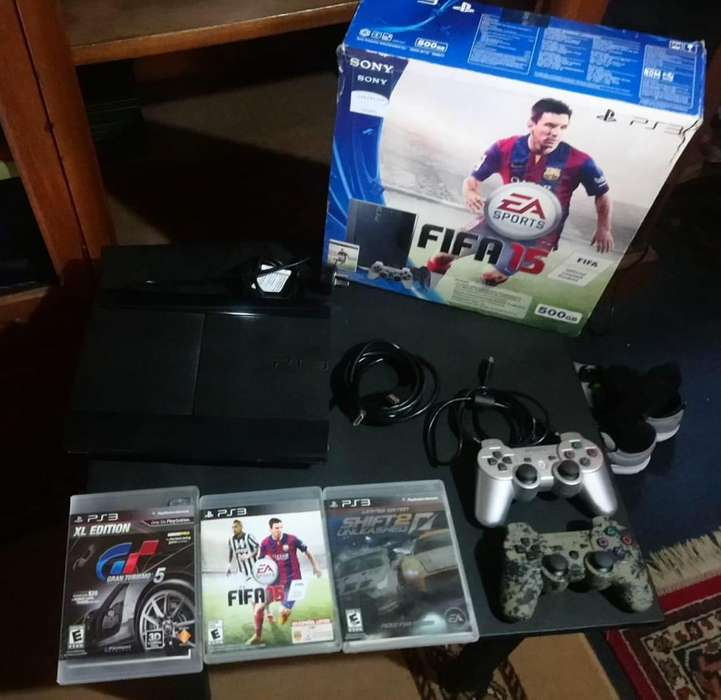 Vendo Ps3 Superslim 500gb,en Muy Buen Estado